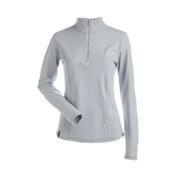 NILS Robin Womens Long Underwear Top, Silver, medium