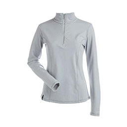 NILS Robin Womens Long Underwear Top, Silver, 256