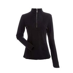 NILS Robin Womens Long Underwear Top, Black, 256
