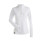 NILS Robin Womens Long Underwear Top, White, medium