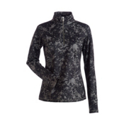 NILS Robin Print Womens Long Underwear Top, Almondine Winter Winds Print, medium