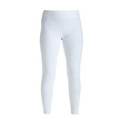 NILS Lindsay Leggings Womens Long Underwear Pants, White, medium