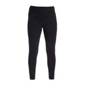 NILS Lindsay Leggings Womens Long Underwear Pants, Black, medium
