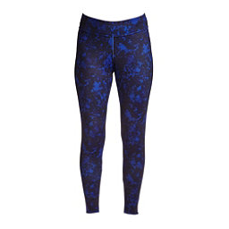NILS Lindsay Print Leggings Womens Long Underwear Pants, Indigo Winter Winds Print, 256