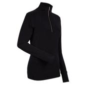 NILS Cheri Womens Long Underwear Top, Black, medium