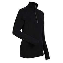 NILS Cheri Womens Long Underwear Top, Black, 256