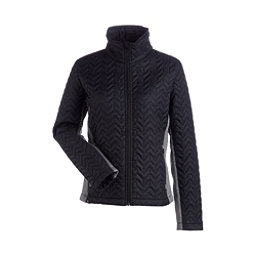 NILS Ellese Womens Jacket, Black-Charcoal, 256