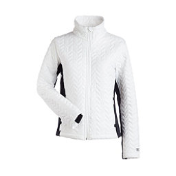 NILS Ellese Womens Jacket, White-Black, 256