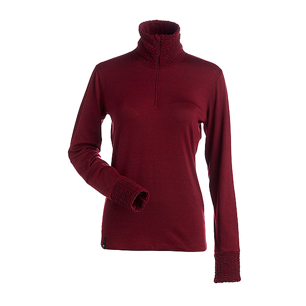NILS Holly Womens Long Underwear Top, Cranberry, 600