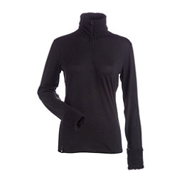 NILS Holly Womens Long Underwear Top, Black, 256