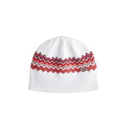 NILS Asi Beanie Womens Hat, White-Cherry-Silver-Pewter-Ora, 256