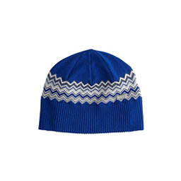 NILS Asi Beanie Womens Hat, Indigo-Silver-White-Pewter-Sha, 256