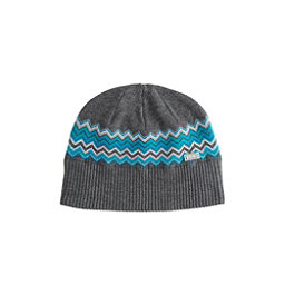 NILS Asi Beanie Womens Hat, Pewter-Light Teal-Dark Teal-Si, 256