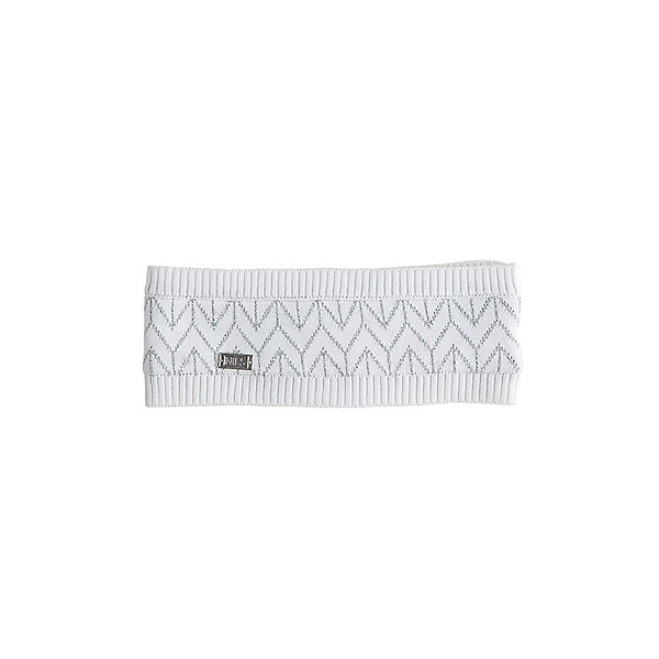 NILS Molly Womens Headband, White-Metallic Silver, 600