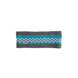NILS Amanda Womens Headband, Pewter-Light Teal-Dark Teal-Si, 256