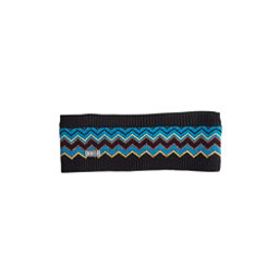 NILS Amanda Womens Headband, Black-Dark Teal-Cornsilk-Pewte, 256