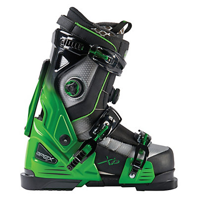 Apex XP Ski Boots 2017, Green-Black, viewer