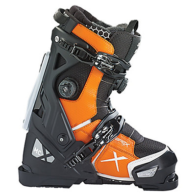 Apex MC-X Ski Boots 2017, Black-Yellow, viewer