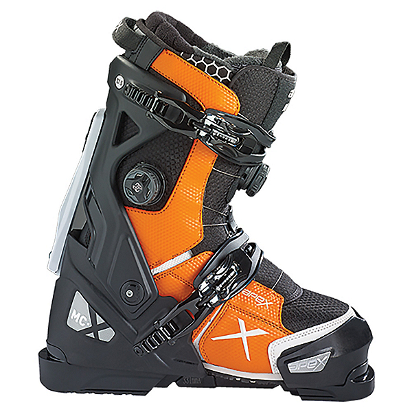 Apex MC-X Ski Boots, Black-Orange, 600