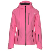 KJUS FRX Alpha Womens Insulated Ski Jacket, Bright Pink-Rum, medium