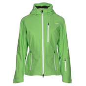 KJUS FRX Alpha Womens Insulated Ski Jacket, Boa Green-White, medium