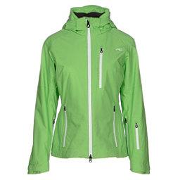 KJUS FRX Alpha Womens Insulated Ski Jacket, Boa Green-White, 256