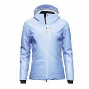 KJUS Edelweiss Womens Insulated Ski Jacket, Peyto Blue, medium