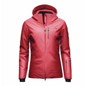 KJUS Edelweiss Womens Insulated Ski Jacket, Lipstick-Purpur Red, medium