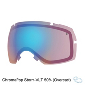 Smith I/OX Turbo Fan Goggle Replacement Lens 2017, Chromapop Storm, medium