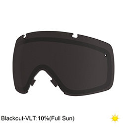 Smith I/OS Goggle Replacement Lens 2017, Blackout, 256