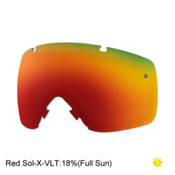 Smith I/OS Goggle Replacement Lens 2017, Red Sol X, medium