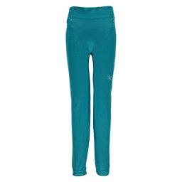 Spyder Crest Boxed Girls Long Underwear Bottom, Bluebird-White, 256