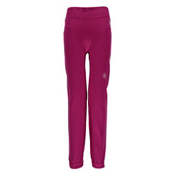 Spyder Crest Boxed Girls Long Underwear Bottom, Voila-White, 256