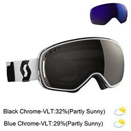 Scott LCG Goggles 2017, Black-White-Solar Black Chrome + Bonus Lens, 256
