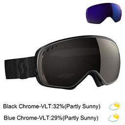 Scott LCG Goggles 2017, Black-Solar Black Chrome + Bonus Lens, 256