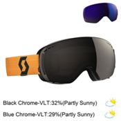 Scott LCG Compact Goggles, Black-Mustard Yellow-Solar Bla + Bonus Lens, medium