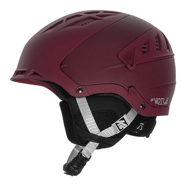 K2 Virtue Womens Audio Helmet, Mulberry, 600