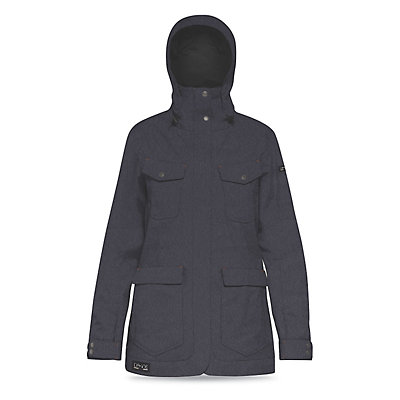 Dakine Canyons Womens Shell Ski Jacket, Denim, viewer