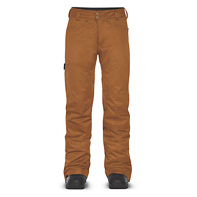 Dakine Westside Womens Ski Pants, Buckskin, viewer