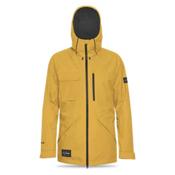 Dakine Smyth Mens Shell Ski Jacket, Curry, medium