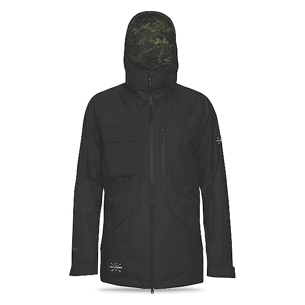 Dakine Smyth Mens Shell Ski Jacket, Black, 600