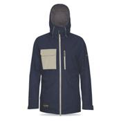 Dakine Smyth Mens Shell Ski Jacket, Midnight-Putty, medium