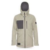 Dakine Smyth Mens Shell Ski Jacket, Putty-Shadow, medium