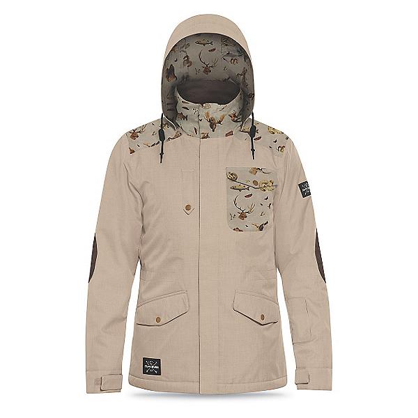 Dakine Intruder Mens Insulated Ski Jacket, Dune-Trophy, 600