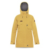 Dakine Linnton Womens Insulated Ski Jacket, Curry, medium