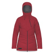 Dakine Lorimer Down Womens Insulated Ski Jacket, Scarlet, medium