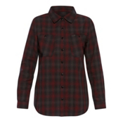 Dakine Canterbury Womens Flannel Shirt, Shadow-Rosewood, medium