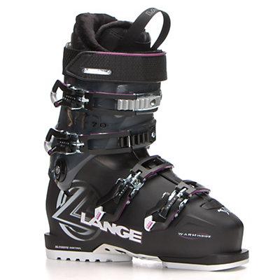 Lange XC 70 W Womens Ski Boots, Black-Magenta, viewer