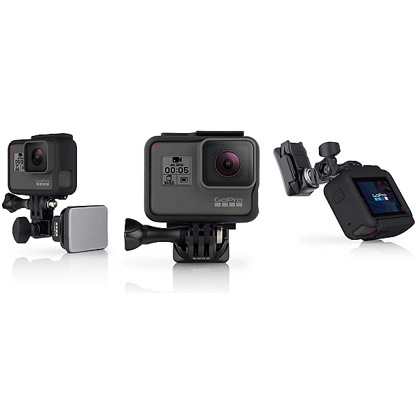 GoPro Helmet Front and Side Mount 2017, , 600