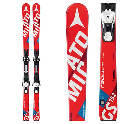 Atomic Redster FIS GS Jr. Junior Race Skis with XTO 12 Bindings, , viewer